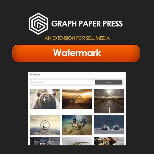 Graph Paper Press Sell Media Watermark