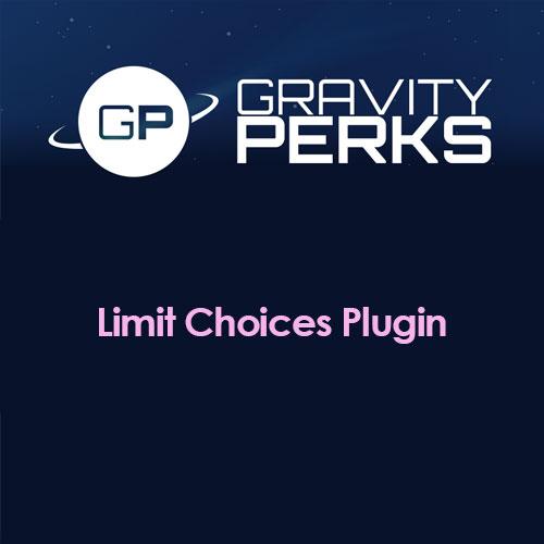 Gravity Perks Limit Choices Plugin