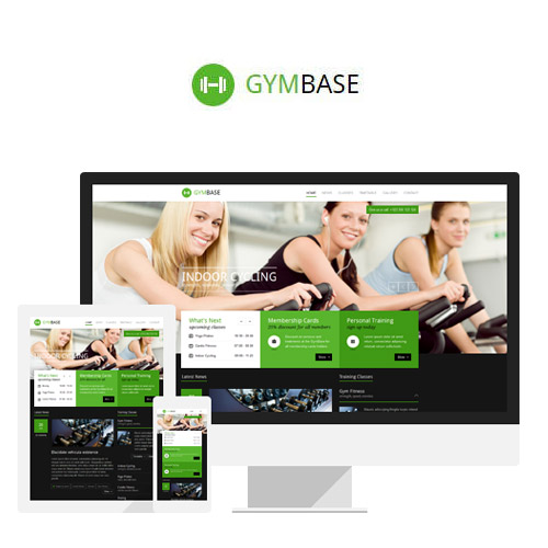 GymBase Responsive Gym Fitness WordPress Theme