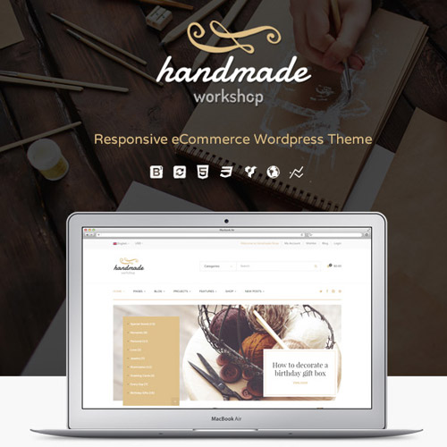 Handmade Shop WordPress WooCommerce Theme