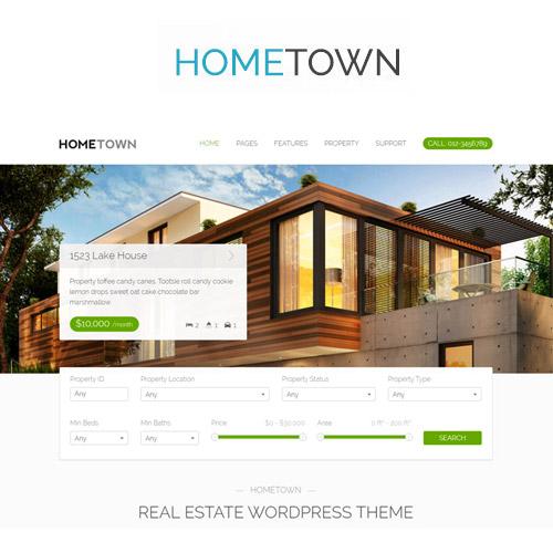Hometown Real Estate WordPress Theme