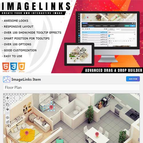 ImageLinks Interactive Image Builder for WordPress