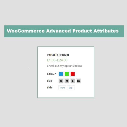 JC WooCommerce Advanced Attributes