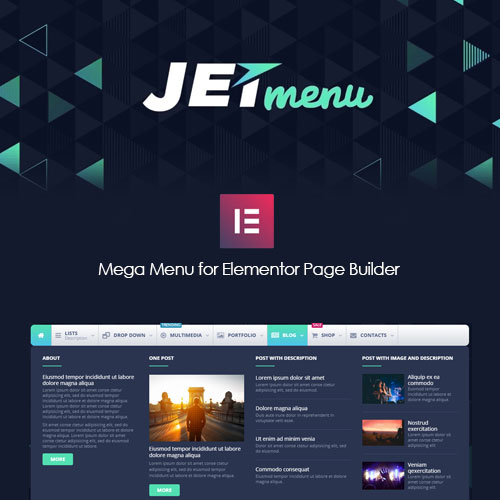 JetMenu For Elementor