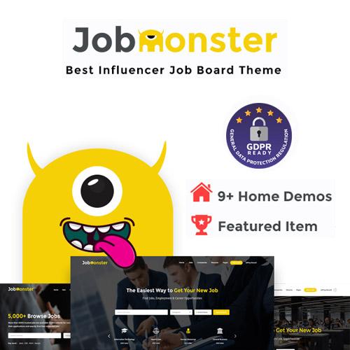 Jobmonster Job Board WordPress Theme