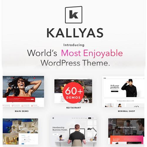 KALLYAS Creative eCommerce Multi Purpose WordPress Theme