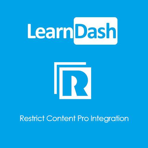 LearnDash LMS Restrict Content Pro Integration