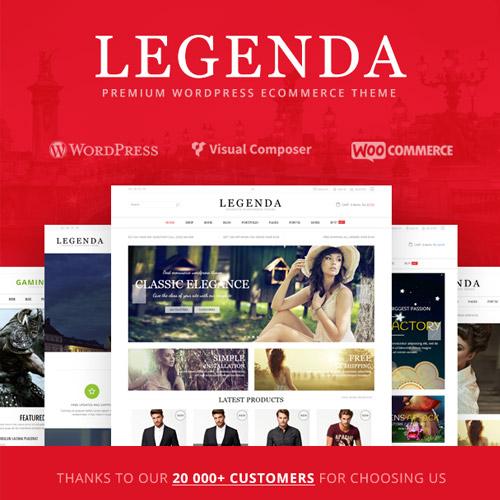Legenda Responsive Multi Purpose WordPress Theme