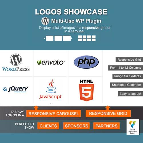 Logos Showcase Multi Use Responsive WP Plugin