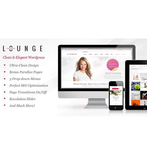 Lounge Clean Elegant WordPress Theme