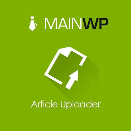 Main Wp Article Uploader