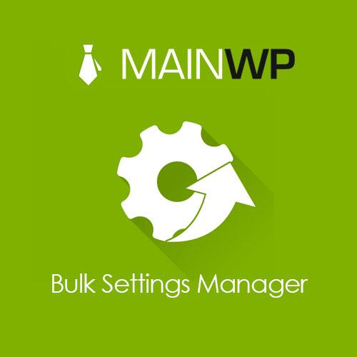 Main Wp Bulk Settings Manager