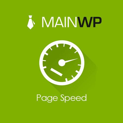 MainWp Page Speed