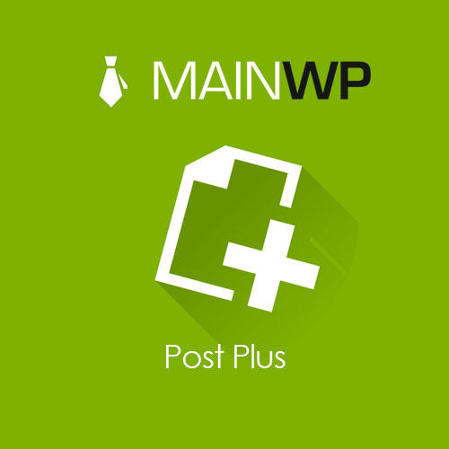 MainWp Post Plus