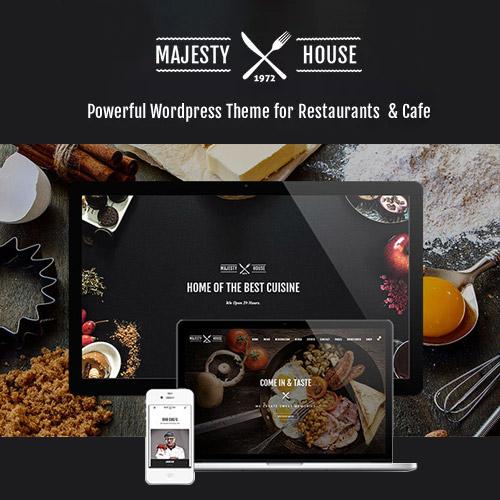 Majesty Restaurant WooCommerce WordPress Theme