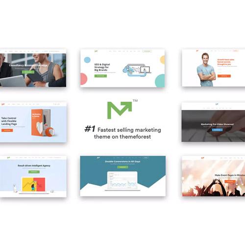 Marketing Pro SEO WordPress Theme for SEO Agency