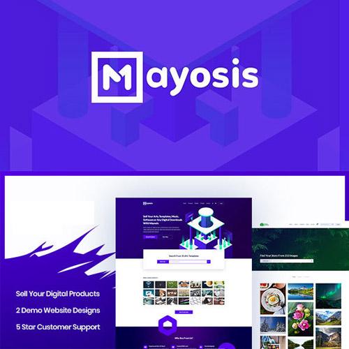 Mayosis Digital Marketplace WordPress Theme