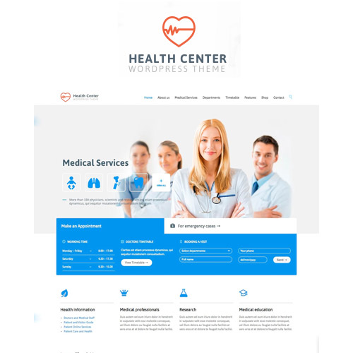 Medical Dentist Medical WordPress