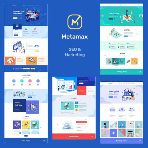 MetaMax SEO and Marketing WordPress Theme