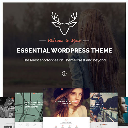 Moose Creative Multi Purpose Theme