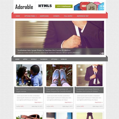MyThemeShop Adorable WordPress Theme
