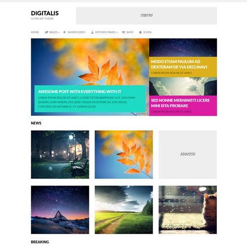 MyThemeShop Digitalis WordPress Theme