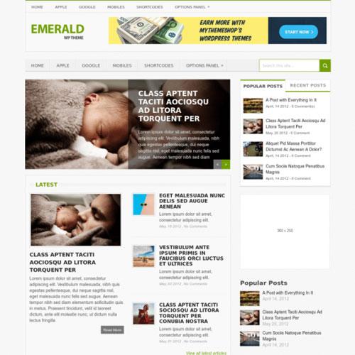 MyThemeShop Emerald WordPress Theme