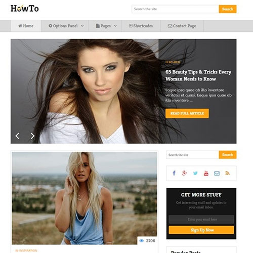 MyThemeShop How To WordPress Theme