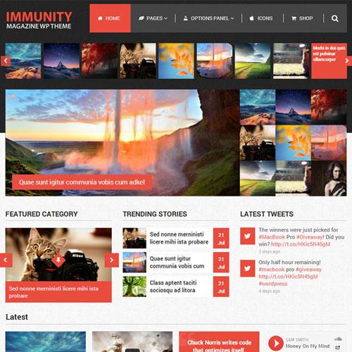 MyThemeShop Immunity WordPress Theme