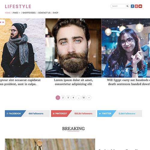 MyThemeShop Lifestyle WordPress Theme