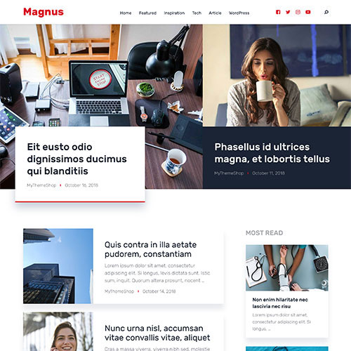 MyThemeShop Magnus WordPress Theme