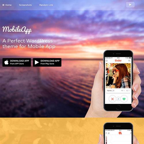 MyThemeShop Mobileapp WordPress Theme