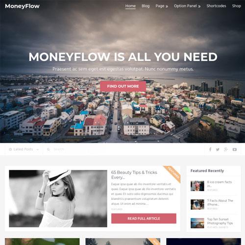 MyThemeShop MoneyFlow WordPress Theme