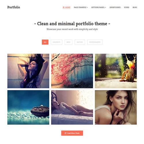 MyThemeShop Portfolio WordPress Theme