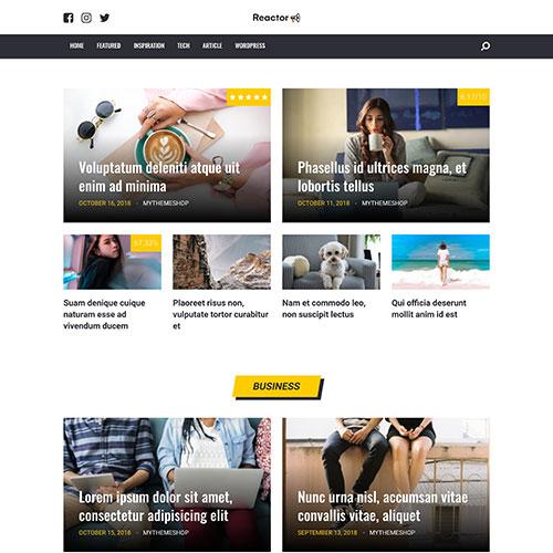 MyThemeShop Reactor WordPress Theme