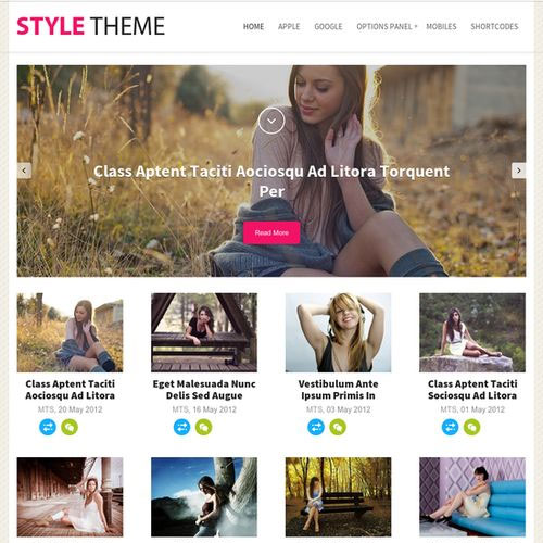 MyThemeShop Style WordPress Theme