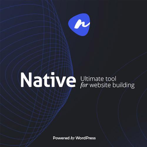 Native Stylish Multi Purpose Creative WP Theme