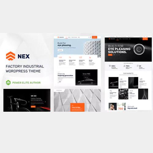 Nex Factory Industrial WordPress