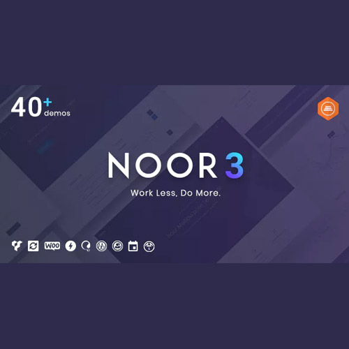 Noor Multi Purpose Fully Customizable Creative AMP Theme