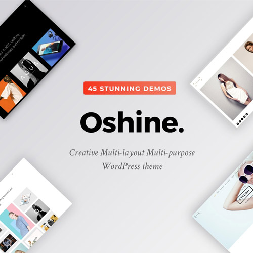 Oshine Multipurpose Creative Theme