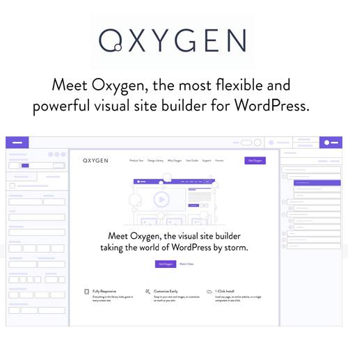 Oxygen 2.0 The Visual Website Builder