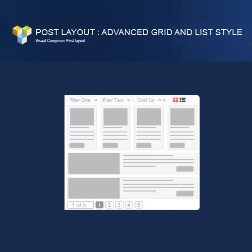 PW Grid List Post Layout For Visual Composer