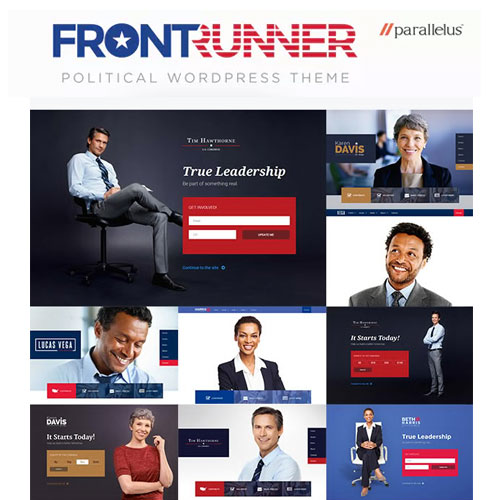 Political WordPress Theme FrontRunner