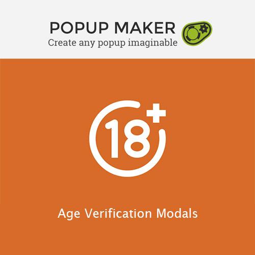 Popup Maker Age Verification Modals