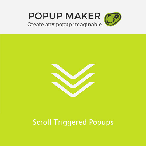 Popup Maker Scroll Triggered Popups