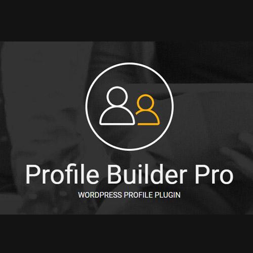 Profile Builder Pro Wordpress Plugin