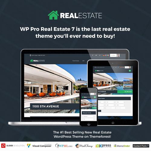 Real Estate 7 Real Estate WordPress Theme