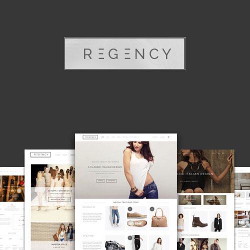 Regency A Beautiful Modern Ecommerce Theme