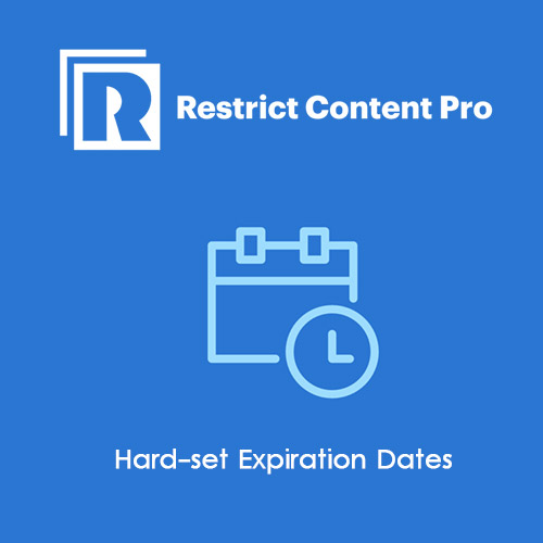 Restrict Content Pro Hard Expiration Dates