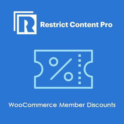 Restrict Content Pro WooCommerce Member Discounts